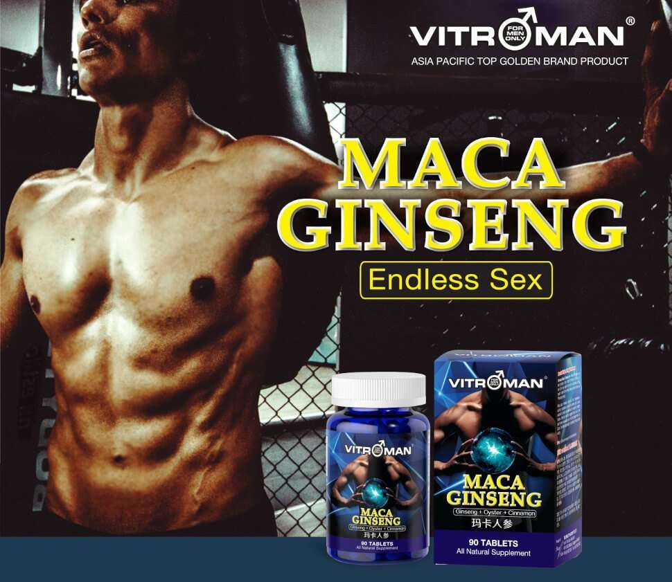 maca ginseng, enhance energy, boost stamina